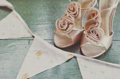Champagne Wedding Shoes - Wedding inspirations