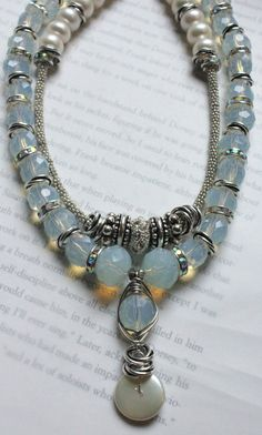 statement necklace sterling silver necklace by soulfuledges, $71.00