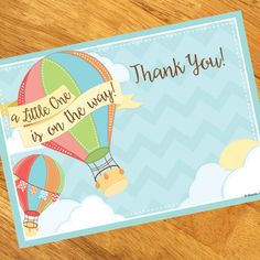 Hot Air Balloon Thank You Notes (8)