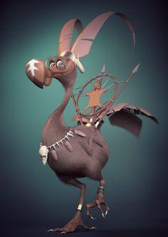 Dodo de combat by Manon Skowron
