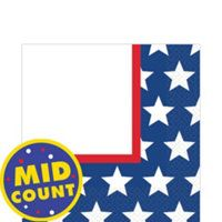 Red, White & Blue Stars Party Supplies-Party City