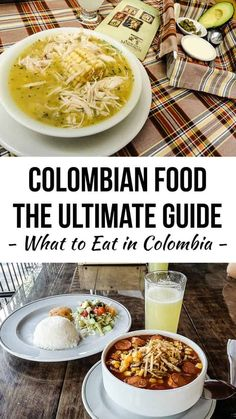 Colombia doesn't have a huge reputation internationally for food, but there are definitely some really hearty, delicious and awesome foods to eat. With more than two years living there, I've got a pretty good idea of almost everything on offer, so here's Colombian Dishes, Colombian Cuisine, Colombian Culture, Traditional Colombian Food, Columbian Recipes, Latin Food, Foods To Eat, International Recipes, Foodie Travel