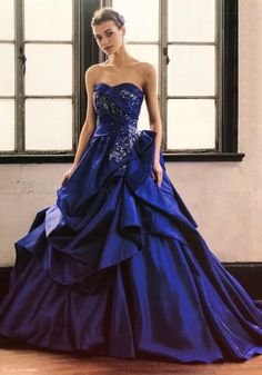 Long Formal Gowns, Formal Wear, Formal Dresses, Wedding Dresses, Masquerade Party, Fancy Party, Designer Gowns, My Outfit, Blue Dresses