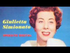 Giulietta Simionato - Casta diva (Bellini) - YouTube