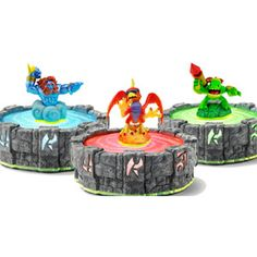 Skylanders Wave 4 Figures from Activision