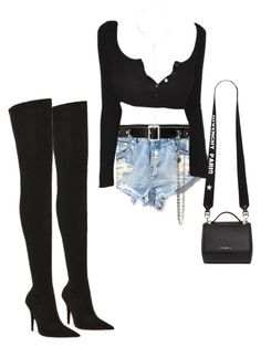 """Untitled #757"" by northwood ❤ liked on Polyvore featuring OneTeaspoon, Jeffrey Campbell, Homme Boy, Catherine Stein and Givenchy"