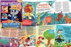 Storytime is the world's best story magazine for kids Jack And The Beanstalk, New Bands, Story Time, Time Travel, Spider, Poems, Magazine, Activities, Spiders