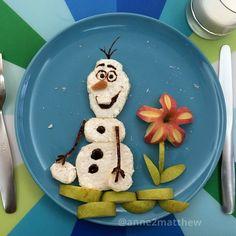 Olaf food art