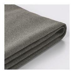 KIVIK Bezug für Hocker mit Aufb. - Borred graugrün - IKEA