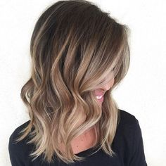 "I love how subtle the highlights are... ""Sombre""? and the cool blond tone is great. Love that some highlighted pieces go higher."
