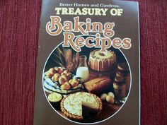 Treasure of Baking Recipes BH&G 1979 PB (BBM-220) vintage cookbooks, baking - $2.75