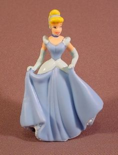 "Disney Cinderella 3 1/8"" Tall PVC Figure, Decopac"