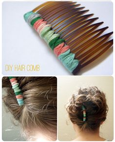 Simple & sweet friendship hair comb.