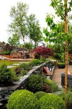 TV GARDEN DESIGN – TV2 2021 Outdoor Spaces, Outdoor Decor, Lush Green, Staycation, Flower Beds, Garden Inspiration, Garden Ideas, Entrance, Garden Design