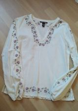 Bella Swan - Twilight - Lucky Brand Embroidered Blouse - Bluse Size M
