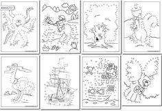 90 Dibujos para Imprimir y Unir Puntos   Fichas para Unir Puntos   Planeaciones Gratis
