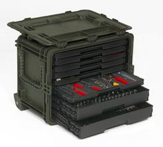 Snap-on all weather mobile tool chest. Far more durable than Stanley Fat Max. See the video here: http://m.youtube.com/watch?v=IJvGRwvUv70