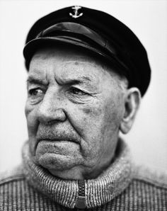 """""""Stephan Vanfleteren: Fishermen In 1950, the Belgian fishing fleet consisted of 457 boats, in 1980 there were 208 and in 2008 only 102. Some say that the fishing industry is..."""