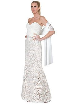 Hawaiian Wedding Dress One Shoulder was 599.00 now 399.00 reserved ...