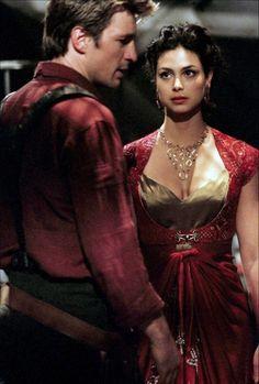 TV | Firefly | Nathan Fillion (Captain Malcolm 'Mal' Reynolds) | Morena Baccarin (Inara Serra)