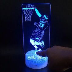 Lebron James Decoration, perfect gift for NBA fans. Lebron James, Lava Lamp, Night Light, Illusions, Nba, Fans, Table Lamp, Bulb, Cleveland Browns