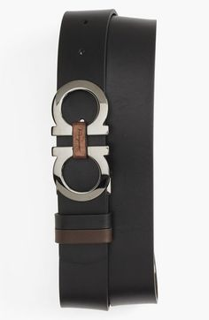Salvatore Ferragamo Leather Belt available at #Nordstrom