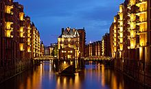 "This free inspiring wallpaper ""Speicherstadt in hamburg germany"" is under Cities, World, City Lights, Water European City Breaks, Dresden Germany, Budget Planer, Hamburg Germany, Urban City, Amazing Destinations, Travel Destinations, National Geographic, Places To See"