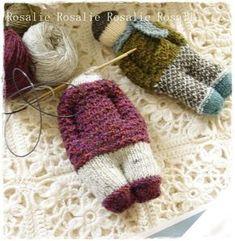 ∙∙Rosalies Träume∙∙: Little Bertie´s Anleitung . Crochet Baby Hats, Crochet Toys, Knit Crochet, Baby Knitting Patterns, Doll Patterns, Crochet Patterns, Worry Dolls, Knitted Animals, Waldorf Dolls