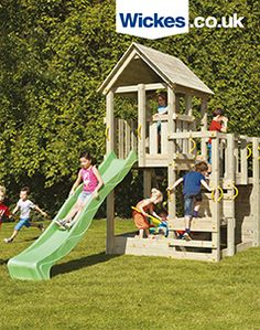 21 best playhouses and climbing frames images playhouses climbing rh pinterest com