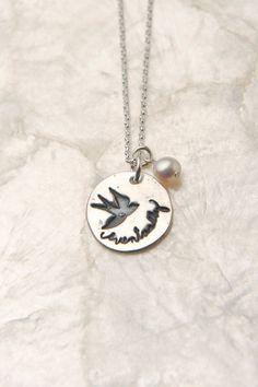 Eventually Infertility Necklace, $40.00, via Etsy.