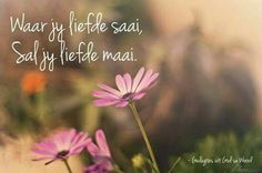 Marriage Relationship, Afrikaans, Garden Art, The Dreamers, Things To Think About, Singing, Lord, Sayings, Inspiration