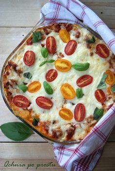 Lasagne z mięsem i cukinią Pepperoni, Pizza, Food, Lasagna, Essen, Meals, Yemek, Eten