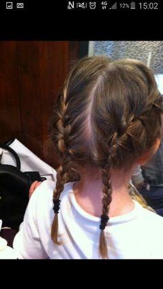 2 braids by Danielle covington
