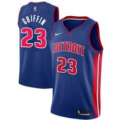 b5485bb27 Blake Griffin Detroit Pistons Nike Swingman Jersey Blue - Icon Edition