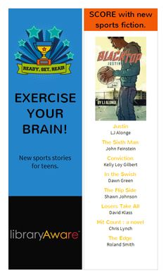 """Everyone loved our last list of sports books so much that we just added a second one! Search """"Sports"""" in bookmarks-4-page."""