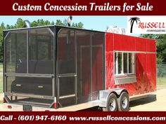 Custom Concession Trailers for Sale:- We specialize in manufacturing custom concession trailers, food truck, BBQ Concession trailers and mobile kitchens,etc. Our products are proudly built by Russell concession  with a reputation for quality!  Serving Lucedale, MS, and surrounding areas. For more information, Call us at (601) 947-6160.