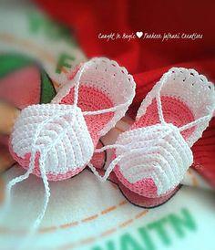 Crochet kids slippers hobbies 48 new Ideas Baby Girl Sandals, Crochet Baby Sandals, Crochet Shoes, Crochet Slippers, Crochet Daisy, Baby Girl Crochet, Crochet For Kids, Crochet Booties Pattern, Baby Shoes Pattern
