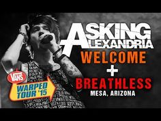 Watch Asking Alexandria Perform With New Frontman Denis Stoff On Warped Tour - Kerrang!