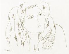 Variations of L Series, 1942|© Henri Matisse