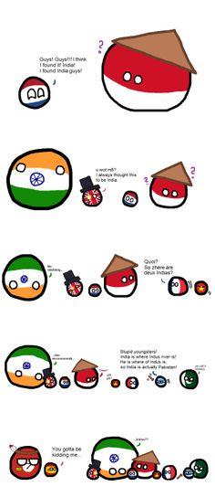 India via reddit | Polandball