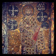 Hagia Sophia Museum - Alex Mosaic