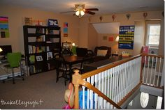 beautiful homeschool room