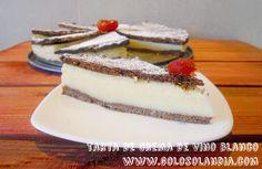 Tarta de crema de vino blanco fácil receta casera, paso a paso  http://www.golosolandia.com/2014/08/tarta-de-crema-de-vino-blanco.html