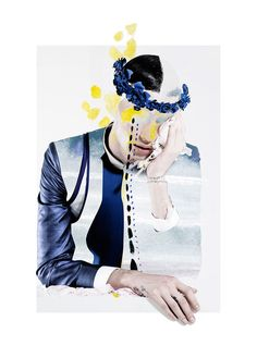 Artistic Menswear-Inspired Collages - Check Out the New Collab Between Six Lee and Ernesto Artillo (GALLERY)