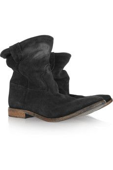 These Isabel Marant boots look like they would get even better with age!