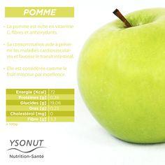 La #Pomme est un #fruit plein de vertus.