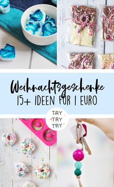 Give away cheaply: 15 gift ideas for 1 euro- gifts from the kitchen // food gifts // Christmas gifts // Christmas gifts // homemade gifts // DIY gifts // baking, cooking, handicrafts // food gifts - Upcycled Crafts, Diy Crafts To Sell, Sell Diy, Handmade Christmas Gifts, Christmas Diy, Homemade Gifts, Diy Gifts, Diy Cadeau, Ideias Diy