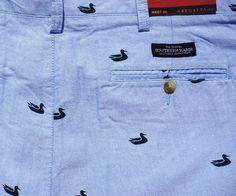 Southern Marsh Oxford Regatta Short with Printed Ducks