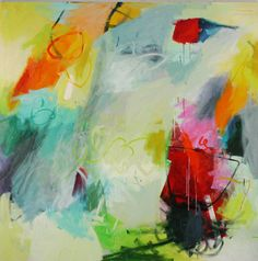 Tory Cowles; painting #colorful #abstract #art