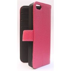 Apple iPhone 5c hot pink puhelinlompakko.